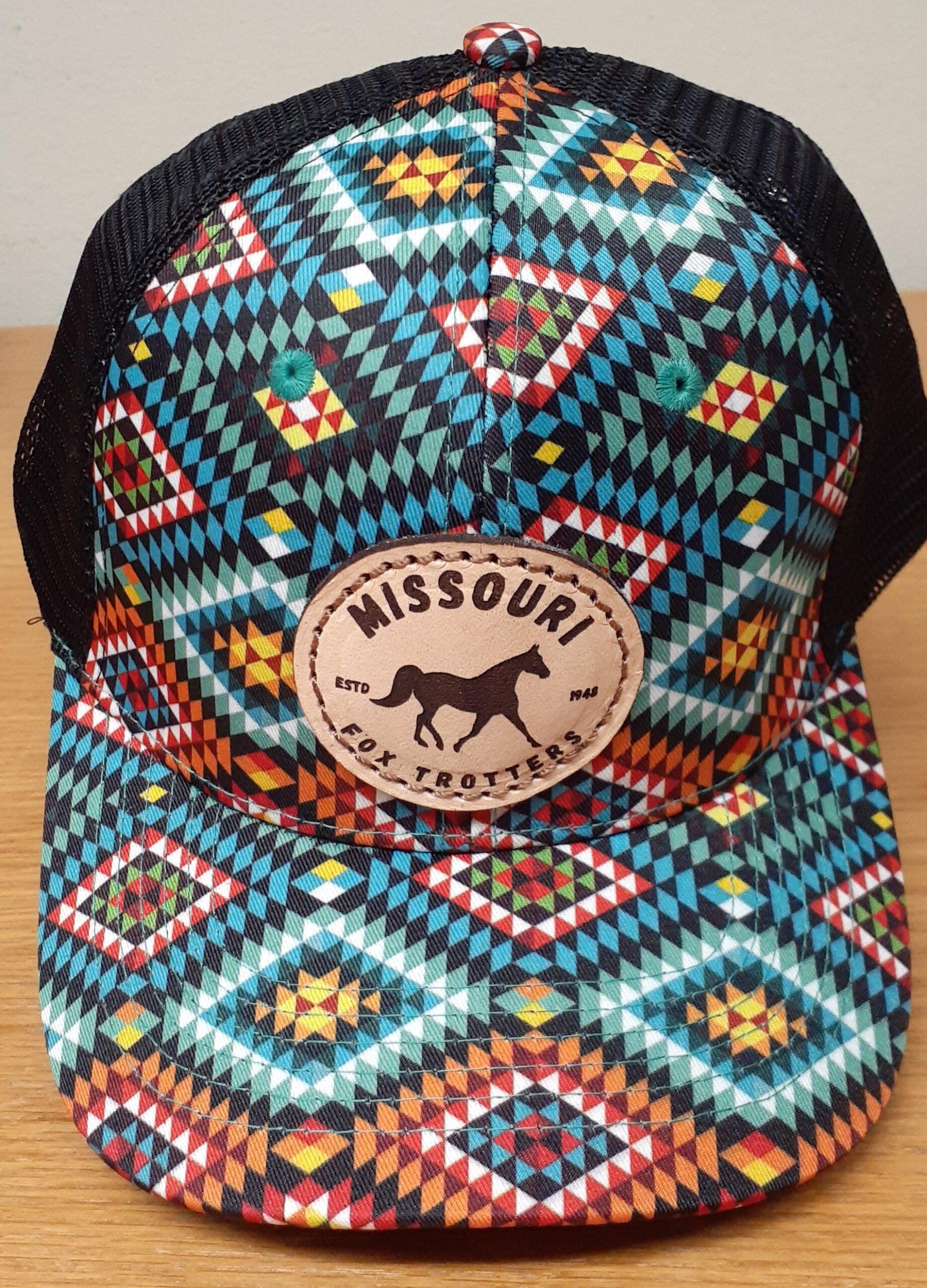 Multi Color Aztec Design Cap