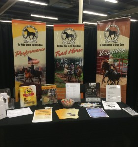 The MFTHBA can assist affiliates with expenses to attend equine expos within their area.